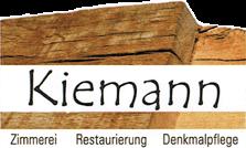 Zimmerei Kiemann Inh. Matthias Kiemann - Logo